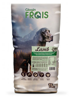 FRAIS ADULT DOG LAMB (СУХОЙ КОРМ ДЛЯ СОБАК С МЯСОМ ЯГНЕНКА) 22/11, 15 кг